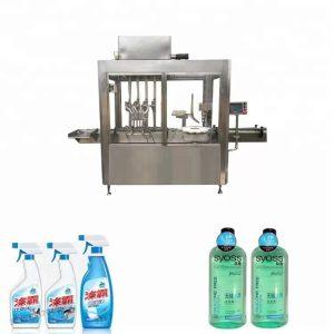 304 z nehrdzavejúcej ocele plastovej fľaše plnenie a uzatváranie stroj