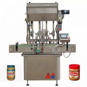 Stroje na plnenie medových fliaš 4 trysiek