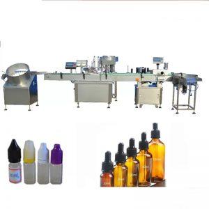 Plniaci stroj na parfémy s objemom 5 - 30 ml