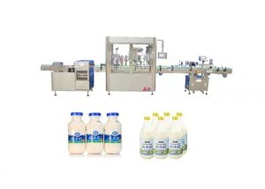 Automatické plnenie a uzatváranie tekutín stroj na 250 ml 500 ml