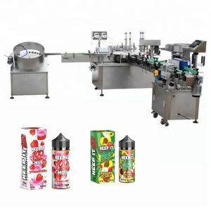 Automatické plnenie tekutín stroj na 10 ml