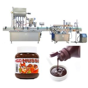 Automatický plniaci stroj na paradajkové omáčky 10 ml
