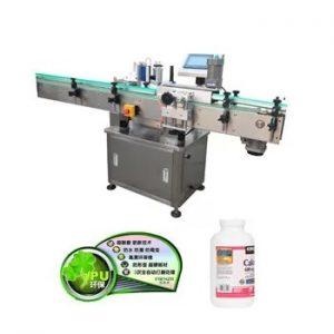 Automatické vertikálne plastové sklenené fľaše etiketovacie stroje
