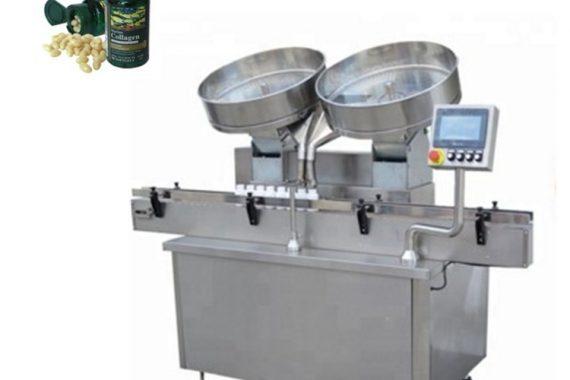 Plniace automaty na tablety s automatickou prácou z nehrdzavejúcej tablety
