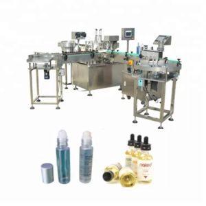 Stroj na plnenie tekutín do guličiek