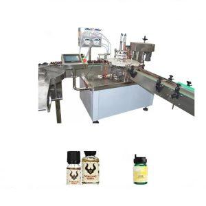 Stroj na plnenie chemických éterických olejov