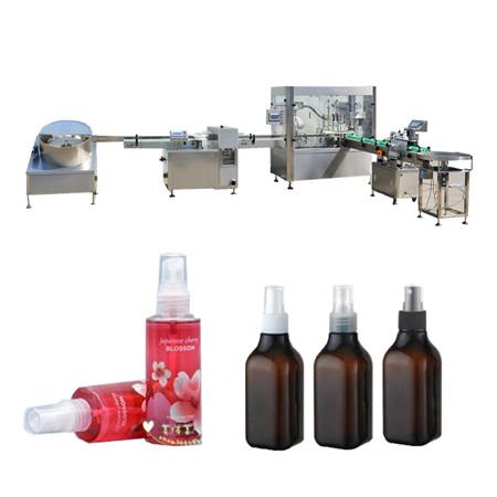 Stroj na plnenie éterických olejov