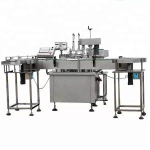 Plnoautomatický plniaci stroj s peristaltickým čerpadlom