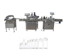 Plne automatický stroj na plnenie tekutín