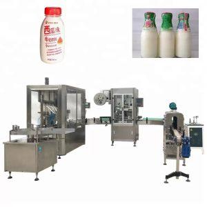 Sklenená fľaša automatické plnenie tekutín stroj