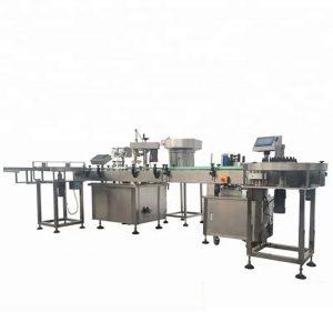 Vysokokapacitné automatické plnenie a uzatváranie fliaš