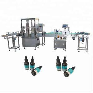 Stroj na plnenie éterických olejov min do 30 ml sklenenej fľaše