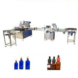 Plniace zariadenie PLC na kontrolu éterického oleja