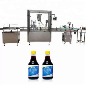 Stroj na riadenie sklenených fliaš PLC so 4 tryskami