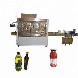 Stroj na riadenie a plnenie PET uzáverov fliaš