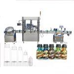 Stroj na plnenie fliaš so servomotorom, zariadenie na kontrolu parfumov s dotykovou obrazovkou