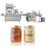 Nerezový piestový automat na plnenie tekutín používaný vo farmaceutickom / kozmetickom priemysle