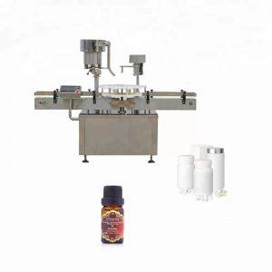 Stroj na uzatváranie fliaš z nehrdzavejúcej ocele používaný v medicíne