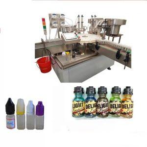 Dotykový displej štítkovanie stroj pre malé fľaše