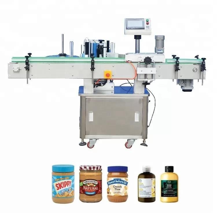 Vertikálny samolepiaci etiketovací stroj na lieky